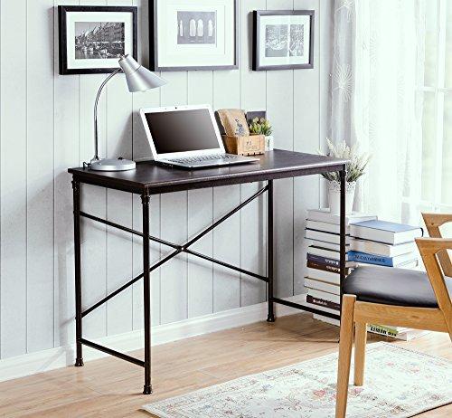 Cheap Homestar Prospero Writing Desk with Metal Legs