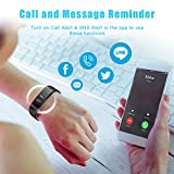 LETSCOM Fitness Tracker HR Color Screen, Heart Rate