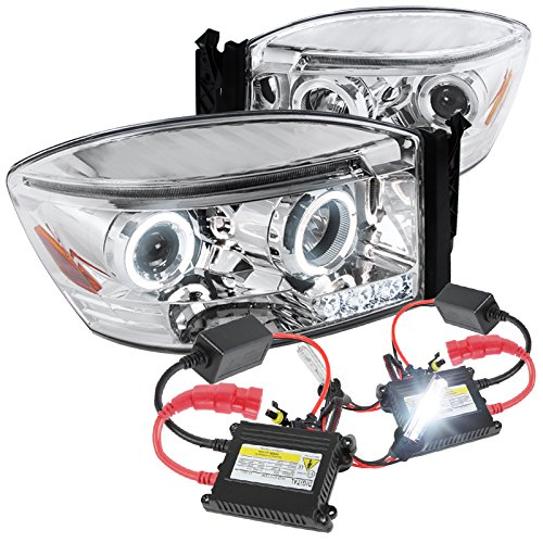 Dodge Chrome Projector Headlight 6000K