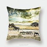 Custom Satin Pillowcase Protector Wild Africa_6857370 Pillow Case Covers Decorative