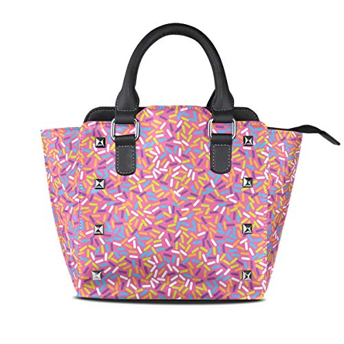 onuts Women Top Handle Satchel Handbags Shoulder Bag Tote Purse Messenger Bags ()