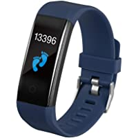 Smartwatch, Body Temperature Monitoring, Smart Bracelet, Heart Rate Blood Pressure Blood Oxygen, Step-By-Step Health…