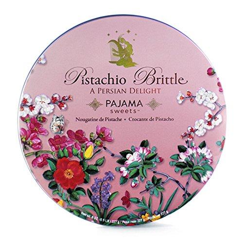 Pistachio Brittle: A Persian Delight, half pound