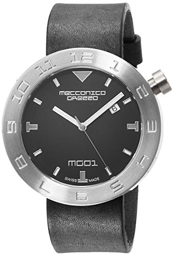 MECCANICA GREZZA (MECDH) Casual Unisex-Adult Watch, Clear