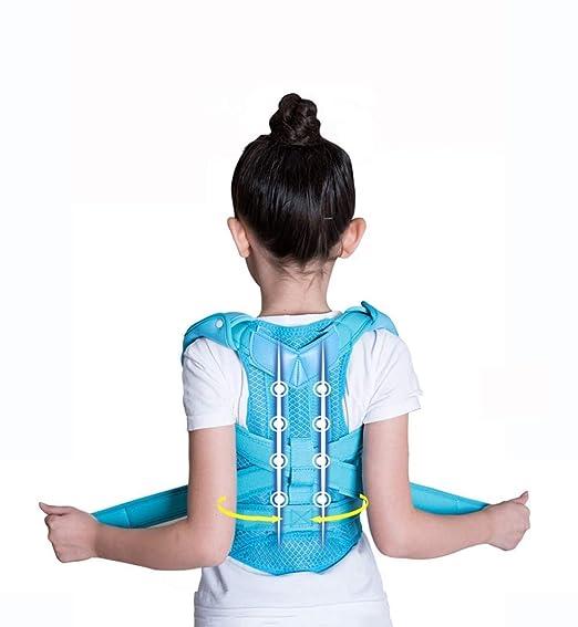 GxYue Andadores Corrector de Postura para niños - Apoyo Posterior ...