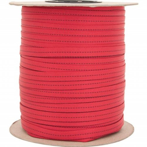 Liberty Mountain 438066 .69 in. x 300 ft. Red Tube Web