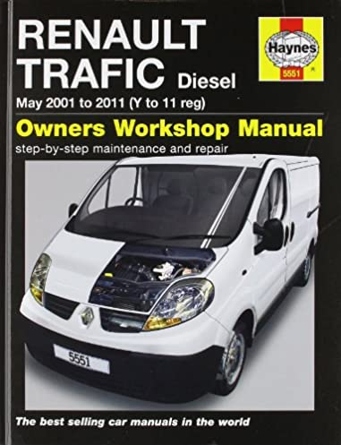 renault traffic diesel service and repair manual 2001 2011 haynes rh amazon com Renault Trafic Passenger Renault Trafic Interior
