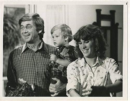 Ralph Waite Judy Norton-Taylor- The Waltons 1979 CBS TV press photo MBX45