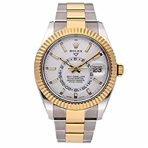Rolex Sky-Dweller automatic-self-wind mens Watch 326933 (Certified Pre-owned)
