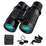 Eyeskey 10X42 HD Waterproof Binoculars for Adults without Fogging Issue for Outdoor Travelling