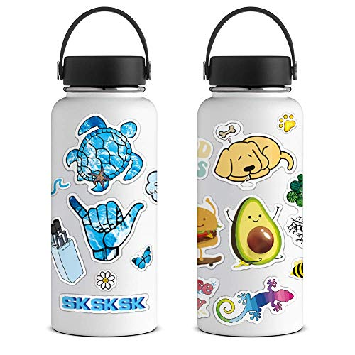 ANERZA VSCO Stickers for Hydro Flask, Colorful Vinyl Waterproof Water Bottle Stickers for Hydroflask - http://coolthings.us