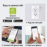 Smart Plug, Gosund Mini WiFi Outlet Works with