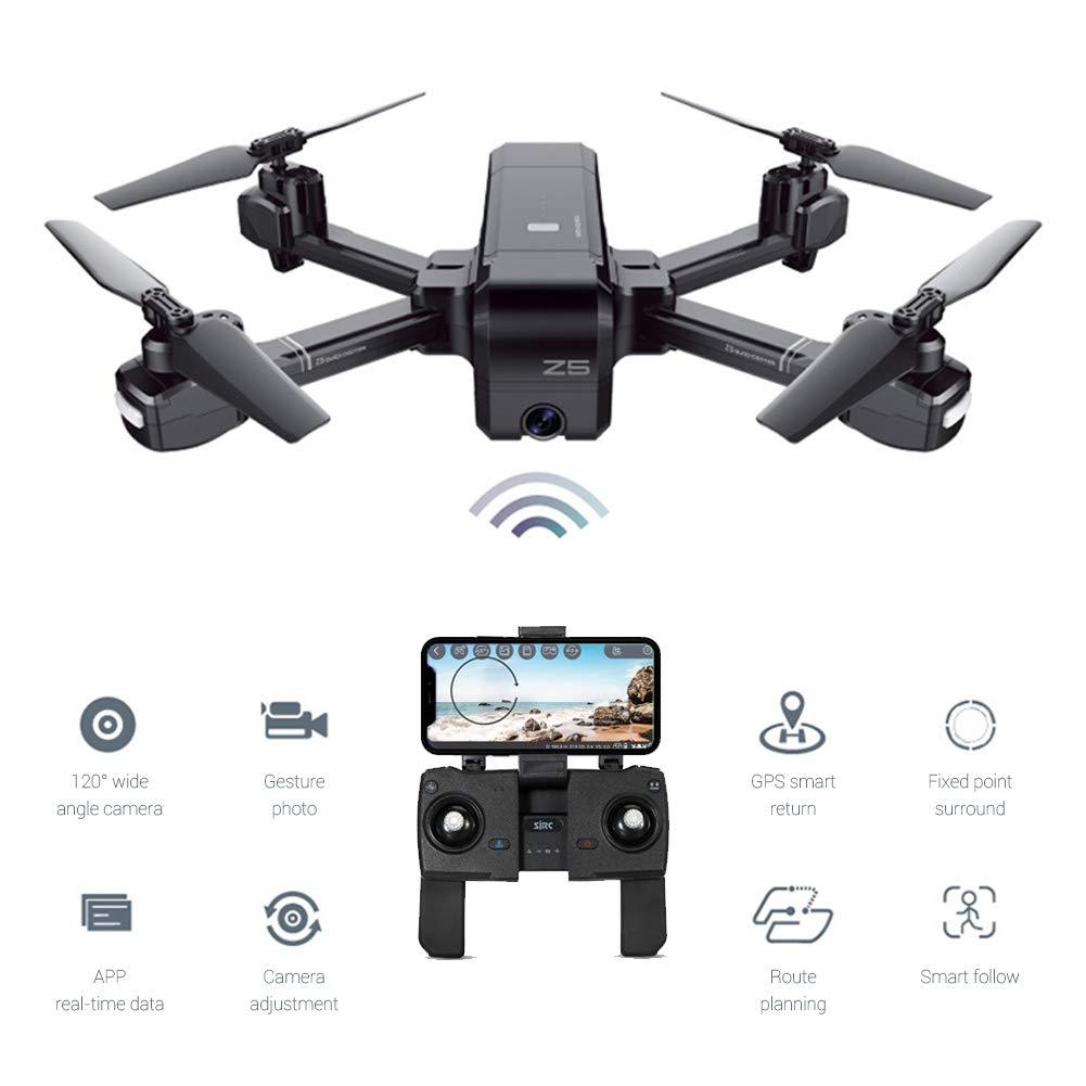 EisEyen Doppel GPS Drohne RC Quadcopter 1080P HD Kamera App WiFi FPV Quadrocopter für Anfänger zu steuern