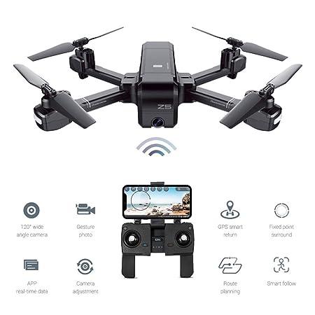 EisEyen Doble GPS dron RC Quadcopter 1080P HD cámara App WiFi FPV ...