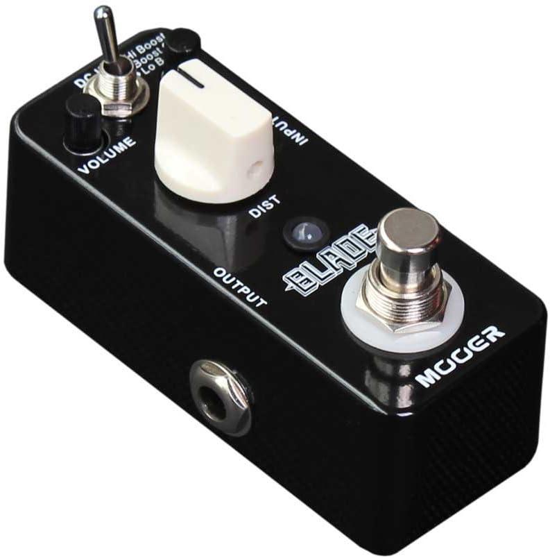 Mooer Blade–Metal Efecto Pedal de distorsión guitarra eléctrica