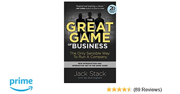 the great game of business expanded and updated the only sensible