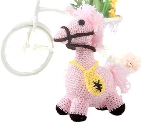 Mini Amigurumi Horse and Donkey - A Free Crochet Pattern - Grace ... | 405x466