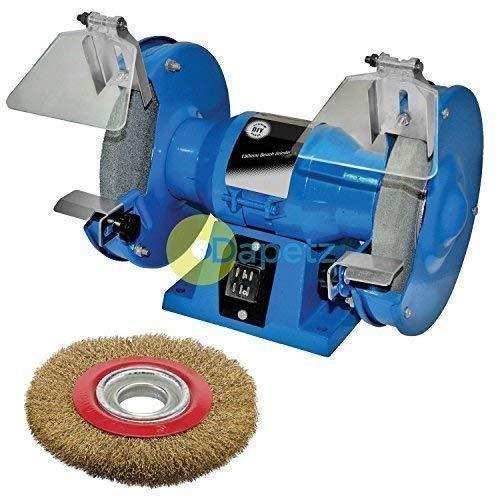 Wire Wheel Dapetz /® 150mm Bench Grinder 230V 150W Motor Polisher Grinding