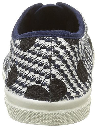 Bensimon Tennis Dots On Tweed - Zapatillas de deporte Mujer Multicolor - Multicolore(516 Marine)