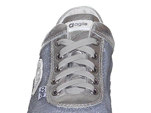 AGILE Comoda Silver BY E0083 Donna RUCOLINE 1315 Scarpa qqfBPwv
