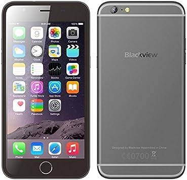 Blackview Ultra View - Smartphone negro con 4 núcleos a 1.3 GHZ ...