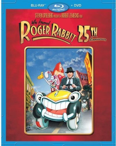Blu-ray : Who Framed Roger Rabbit: 25th Anniversary Edition (With DVD, Anniversary Edition, Dolby, Widescreen, Dubbed)