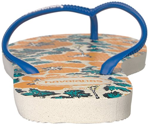 Slim White Flop Sandal Star Blue Women's Floral Havaianas Flip YgHq5P5n
