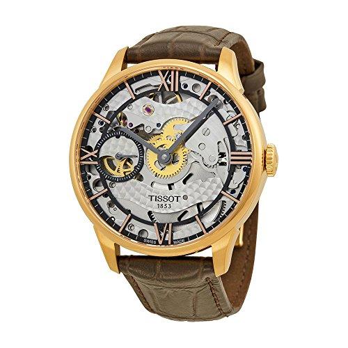 Tissot Chemin Des Tourelles Squelette Automatic Male Watch T0994053641800