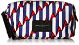 Marc Jacobs Arrow Head Printed Biker Cosmetics Landscape Pouch Handba, Paris Blue Kiss Multi, One Size
