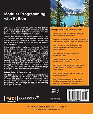 Modular Programming with Python: Erik Westra: Amazon com