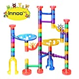 Innoo Tech Marble Run Toys, Marble Genius Set, STEM Learning Toy Marble Run Sets for Kids, Construction Toys For Kids, ABS, 80 Pcs