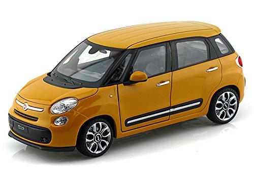 Welly NEX 1/24 Scale 24038W - 2013 Fiat 500L - Yellow B016K4S740