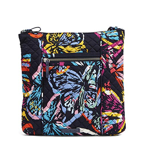 - Vera Bradley Iconic Hipster, Signature Cotton, Butterfly Flutter
