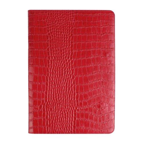 輝く高品質な 【日本正規代理店品 Croco】GAZE iPad Air Air 2専用 レザーケース 本革 レッド スタンド機能付 Vivid Croco Diary レッド ダイアリータイプ GZ5057iPA2 レッド B00P60JUD2, ヒガシムラヤマシ:9e49f7d8 --- a0267596.xsph.ru