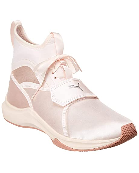 efdf5102d8e973 PUMA Women s Phenom Satin EP Pearl Pearl 10 B US  Amazon.ca  Shoes ...