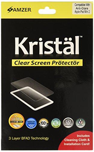 Amzer Kristal Anti Glare Screen Protector Matte Finish Scratch Guard for iPad mini with Retina Display, iPad mini - Ray Kristal