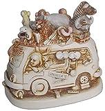 """Harmony Kingdom """"Ed's Safari II - Infinity Version"""" Multi-Animal Figurine"""