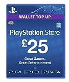 Playstation Network Card PSN £ 25 UK PS3 & PS Vita & PS4