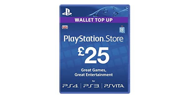 Amazon.com: Playstation Network Card PSN £ 25 UK PS3 & PS ...