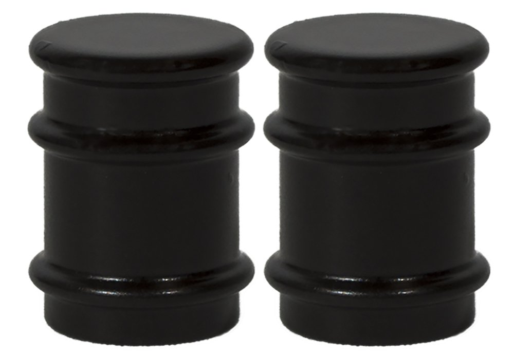 Urbanest Set of 2 Spina Lamp Finials, 1 1/4-inch Tall, Oil-rubbed Bronze