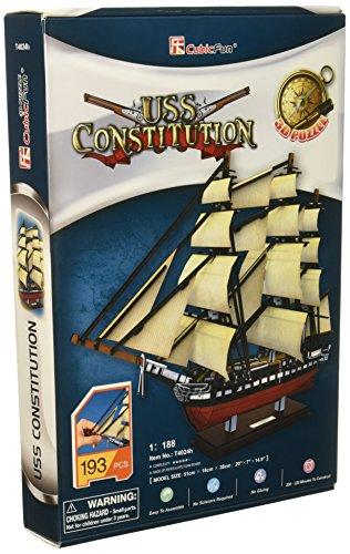 USS Constitution 3D Puzzle ()