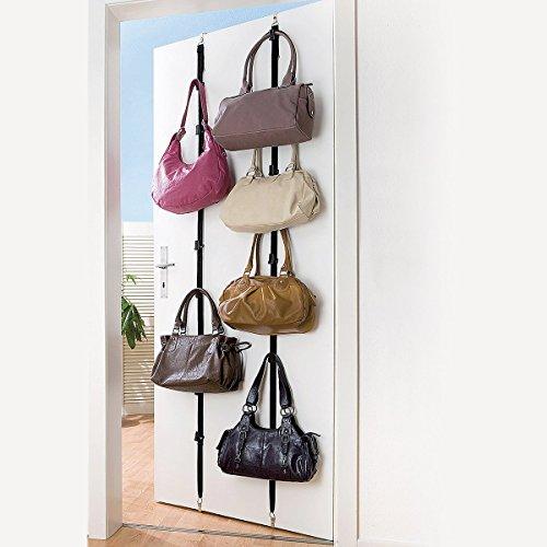 2-tlg. Taschen-Garderobe Set