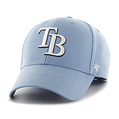 Tampa Bay Rays MLB Columbia Mvp 47 Brand Curved Bill Adjustable Mvp Wool Hat