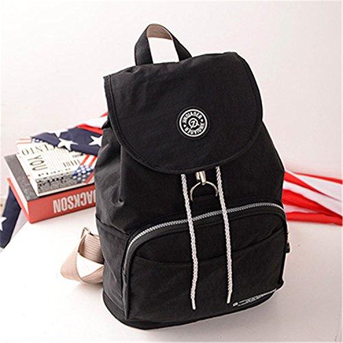 Women Backpack Waterproof Backpack Backpacks Casual Travel Bag Black
