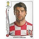 FIFA World Cup 2014 Vedran Corluka Sticker No.55