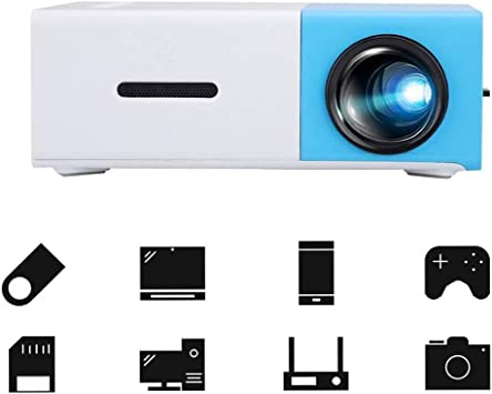 Multimedia Projector LED Home Theater Projector, Pocket 3D Laser ...