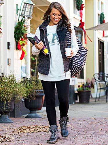 Maniche Maniche Maniche Tomwell Pelliccia Elegante Senza Cappotti Invernale Sintetica Nero Donne Outwear Giacche di Autunno Gilet xzqSrgYtwz