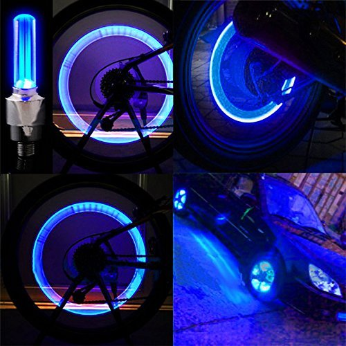Blue Led Cycle Light - 8