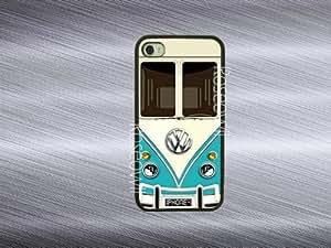 Iphone 5c Case, VW Minibus Teal iphone cases, iPhone 5c Cover, Best Cool Cute...