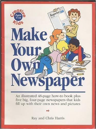 amazon com make your own newspaper 9781558502192 adams media tbd